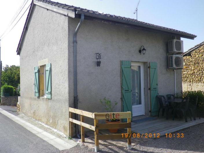 Gite location semur en brionnais la petite maison for Acheter un maison en france